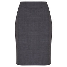 Buy John Lewis Melange Pencil Skirt, Grey Online at johnlewis.com