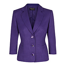 Buy Precis Petite Wool Erdhart Jacket, Blackberry Online at johnlewis.com