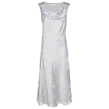 Buy Jacques Vert Crystal Devore Dress, Grey Online at johnlewis.com