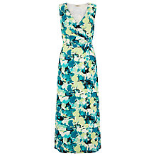 Buy Precis Petite Floral V-Neck Maxi Dress, Multi Online at johnlewis.com