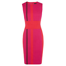 Buy Karen Millen Signature Stripe Dress, Multi Online at johnlewis.com