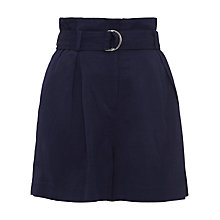 Buy Whistles Jenny Shorts, Navy Online at johnlewis.com
