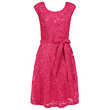 Buy Kaliko Cornelli Lace Dress, Mid Pink Online at johnlewis.com