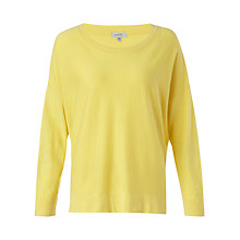 Buy Jigsaw Slouchy Cotton Jumper Online at johnlewis.com
