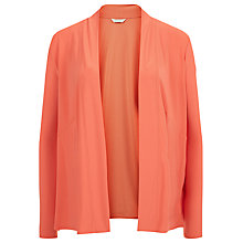Buy Kaliko Waterfall Cardigan, Coral Online at johnlewis.com