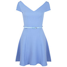 Buy Miss Selfridge Bardot Fit And Flare Dress Online at johnlewis.com