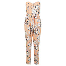 Buy Miss Selfridge Floral Printed Jumpsuit, Assorted Online at johnlewis.com