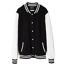 Buy Mango Kids Boys' Cotton Bomber Jacket Online at johnlewis.com
