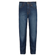 Buy John Lewis Boy's Straight-Leg Cotton Denim Jeans Online at johnlewis.com
