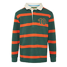 Buy John Lewis Boy Stripe Rugby Shirt Online at johnlewis.com