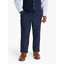 Buy John Lewis Heirloom Collection Boys' Twill Suit Trousers, Blue Online at johnlewis.com