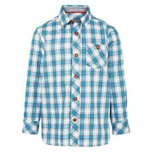 Buy John Lewis Boy Long Sleeve Check Shirt Online at johnlewis.com