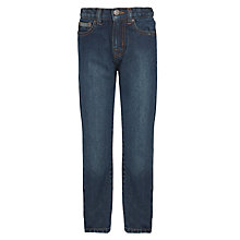 Buy John Lewis Boys' Regular Fit Cotton Denim Jeans Online at johnlewis.com