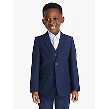 Buy John Lewis Heirloom Collection Boys' Twill Suit Jacket, Blue Online at johnlewis.com