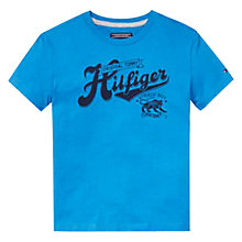 Buy Tommy Hilfiger Boys' Mick Short Sleeve T-Shirt Online at johnlewis.com
