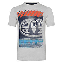 Buy Animal  Boys' Hunter Logo T-Shirt, Grey Online at johnlewis.com