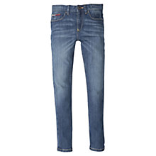 Buy Tommy Hilfiger Boys' Scanton Slim Mid Wash Jeans Online at johnlewis.com