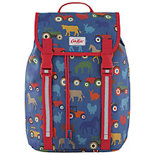 Buy Cath Kidston Kids' Farmyard Drawstring Backpack, Multi Online at johnlewis.com