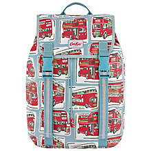 Buy Cath Kidston London Bus Drawstring Rucksack, Blue Online at johnlewis.com
