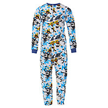 Buy Batman Jersey Onesie, Grey Online at johnlewis.com