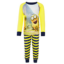 Buy Minions Pyjamas, Yellow/Blue Online at johnlewis.com