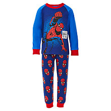 Buy Spider-Man Pyjamas, Blue/Red Online at johnlewis.com