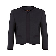 Buy Jaeger Bouclé Cotton Jacket Online at johnlewis.com