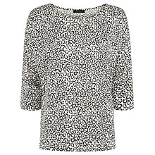 Buy Jaeger Little Leopard Print T-Shirt Online at johnlewis.com
