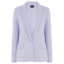 Buy Oasis Lightweight Jersey Jacket, Lilac Online at johnlewis.com