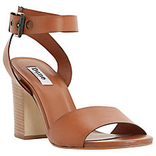 Buy Dune Jalexa Block Heeled Sandals Online at johnlewis.com