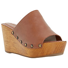 Buy Dune Keera Platform Wedge Heeled Sandals Online at johnlewis.com
