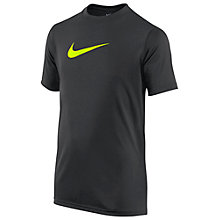 Buy Nike Legend Boys' Short Sleeve T-Shirt Online at johnlewis.com