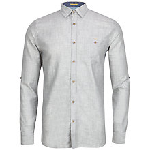 Buy Ted Baker Farewel Classic Linen Blend Shirt Online at johnlewis.com