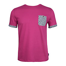 Buy Ted Baker Palmdon Printed Pocket T-Shirt Online at johnlewis.com