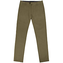 Buy Ted Baker Shertro Super Slim Printed Chinos, Tan Online at johnlewis.com