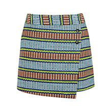 Buy Karen Millen Basket Weave Wrap Skirt, Multi Online at johnlewis.com