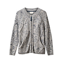 Buy East Cable Knit Cardigan, Ivory Online at johnlewis.com