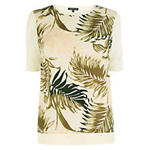 Buy Warehouse Palm Front Top, Multi Online at johnlewis.com