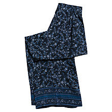 Buy East Virginia Palazzo Silk Trousers, Indigo Online at johnlewis.com