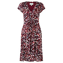 Buy Jigsaw Print Dress, Red Ink Online at johnlewis.com
