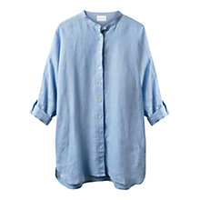 Buy East Linen Oversized Nehru Shirt Online at johnlewis.com