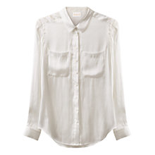 Buy East Cotton Two Pocket Shirt, White Online at johnlewis.com