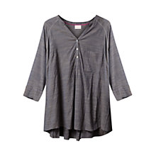 Buy East Crinkle Shirt, Ash Online at johnlewis.com