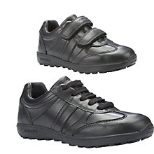 Buy Geox Xitizen School Shoes, Black Online at johnlewis.com