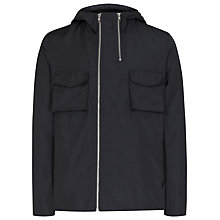 Buy Reiss Kenny Asymmetric Zip Hooded Jacket Online at johnlewis.com