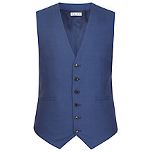 Buy Reiss Xenon Modern Fit Wool Waistcoat, Blue Online at johnlewis.com