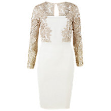 Buy Gina Bacconi Moss Crepe Dress Online at johnlewis.com