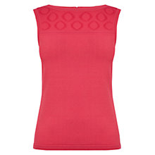 Buy Karen Millen Aertex Knitted Top Online at johnlewis.com