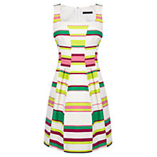 Buy Karen Millen Bold Stripe Dress, Multi Online at johnlewis.com
