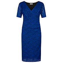 Buy Windsmoor Lace Dress, Bright Blue Online at johnlewis.com